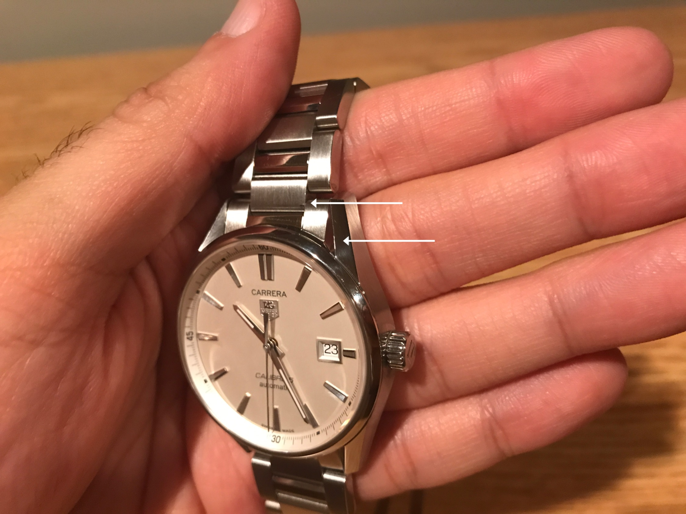 Scratches on new Jomashop watch